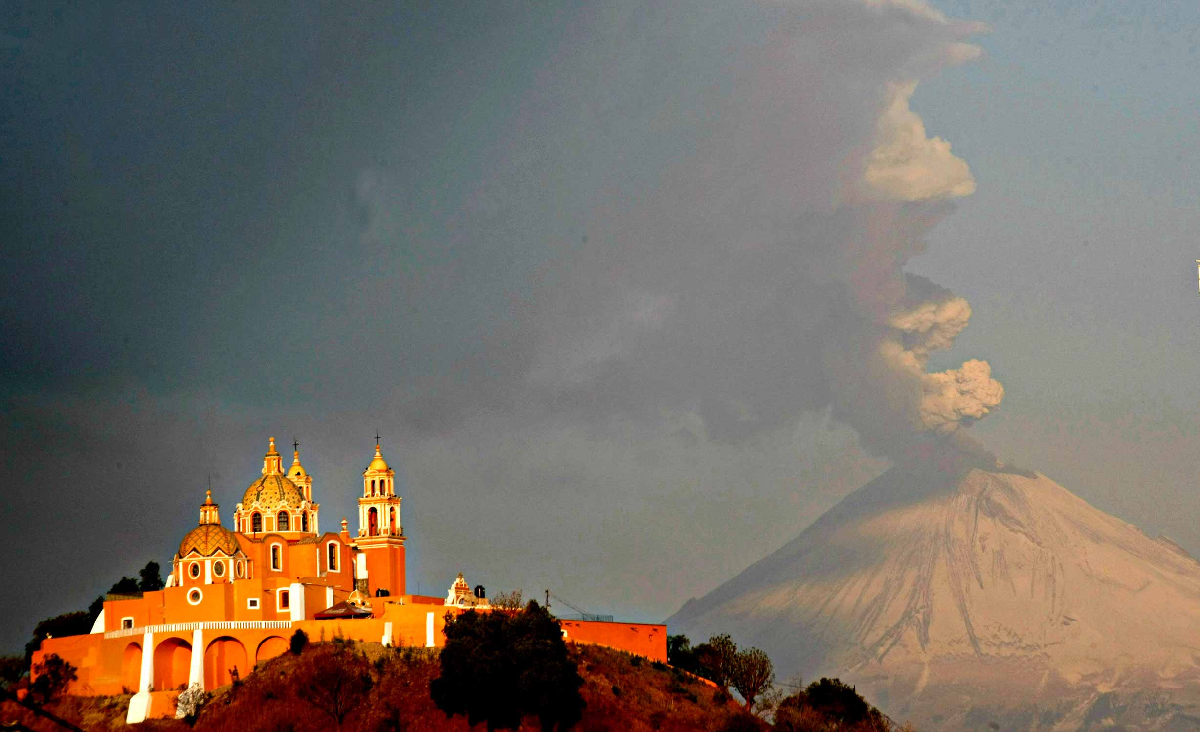 Cholula in Puebla
